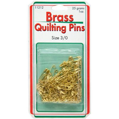 Brass Quilting Pins