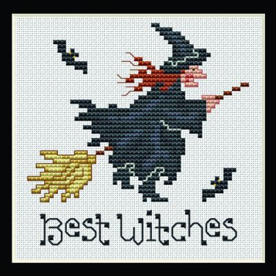 Best Witches Cross Stitch Project