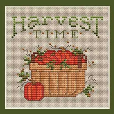 Harvest Time Cross Stitch Project