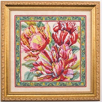 Tulip Tapestry Floral Floss Kit