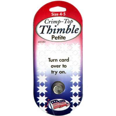 Crimp-Top Thimble Petite