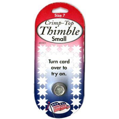 Crimp-Top Thimble Small