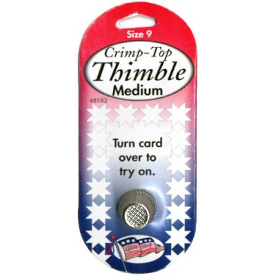 Crimp-Top Thimble Medium