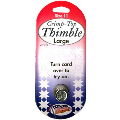 Crimp-Top Thimble Large