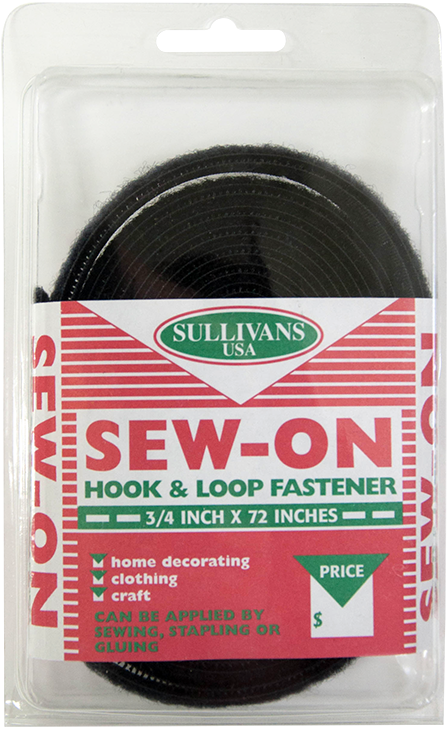 Sew-On Hook and Loop Fastener