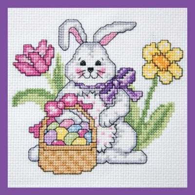 Easter Bunny Cross Stitch Project