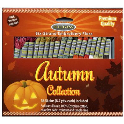 Autumn Embroidery Floss Pack