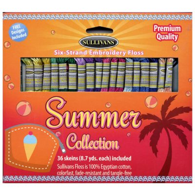 Summer Embroidery Floss Pack
