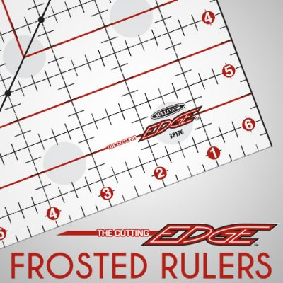 The Cutting EDGE Frosted Rulers