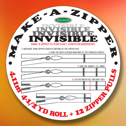Invisible Make-A-Zipper